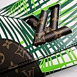LV Petite Malle bags were graced with tropical prints!