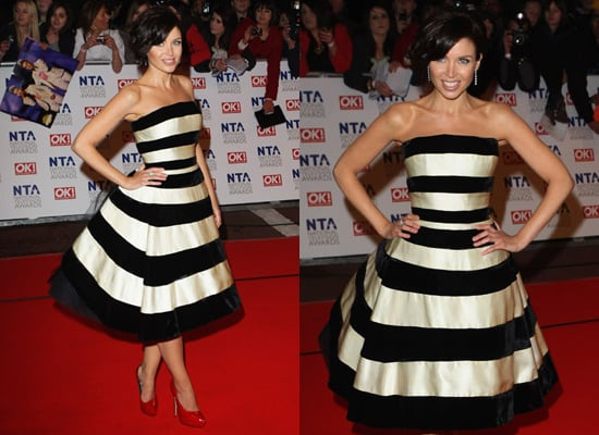 Dannii Minogue at the 2010 National Television Awards 2010-01-20 11:48:29