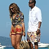 Pictures of Jay-Z and Beyonce Knowles