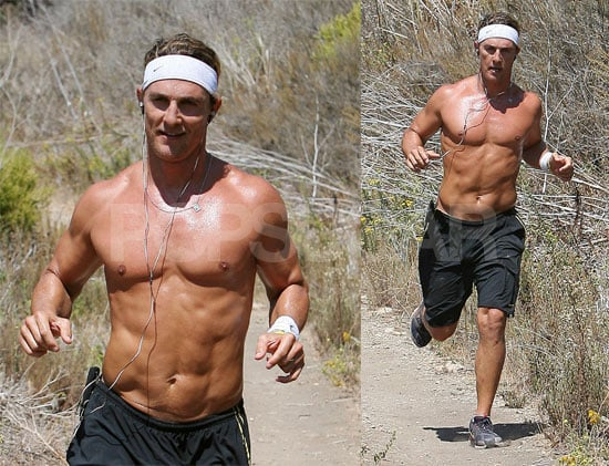 Matthew McConaughey Is Still A Hunky Runner