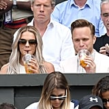 Louisa Johnson and Olly Murs at Day 9 of Wimbledon