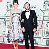 Sofia Sanchez was perfectly printed as she joined Alexandre de Betak for the Love Ball.