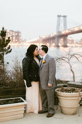Instead of Traditional, This Couple Wanted Their Wedding to Be Cool and Casual, Just Like Them