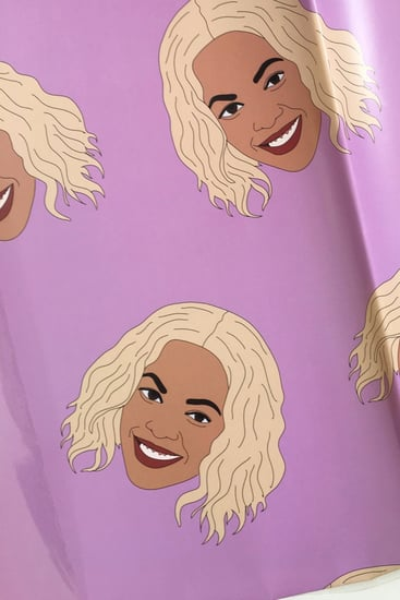 Beyonce Wrapping Paper on Etsy