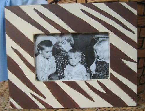 Zebra Print ($40)