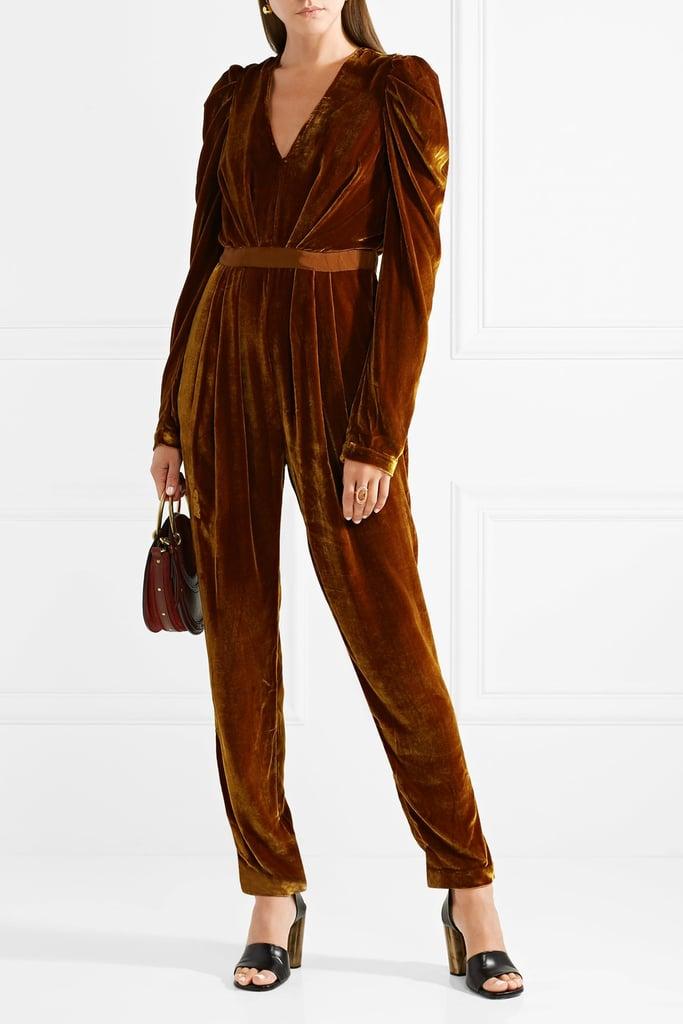 2a1f56f9981 Ulla Johnson Velvet Jumpsuit