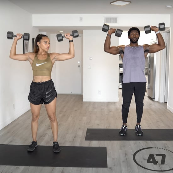 30-Minute Full-Body Drop-Set Workout Video From Trainers