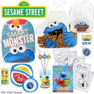 Sesame Street Showbag ($26) Includes:  Cupcake Set  Backpack  Cutlery Set