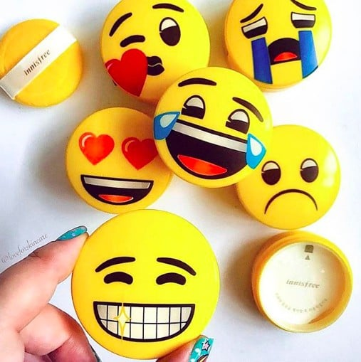 Innisfree Emoji Compacts