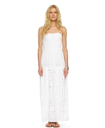 Michael Michael Kors Smocked Eyelet Maxi Dress ($175)
