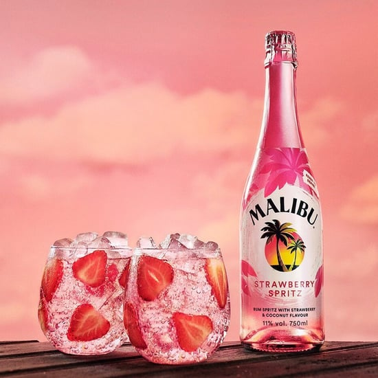Malibu Strawberry Spritz Rum Cocktail