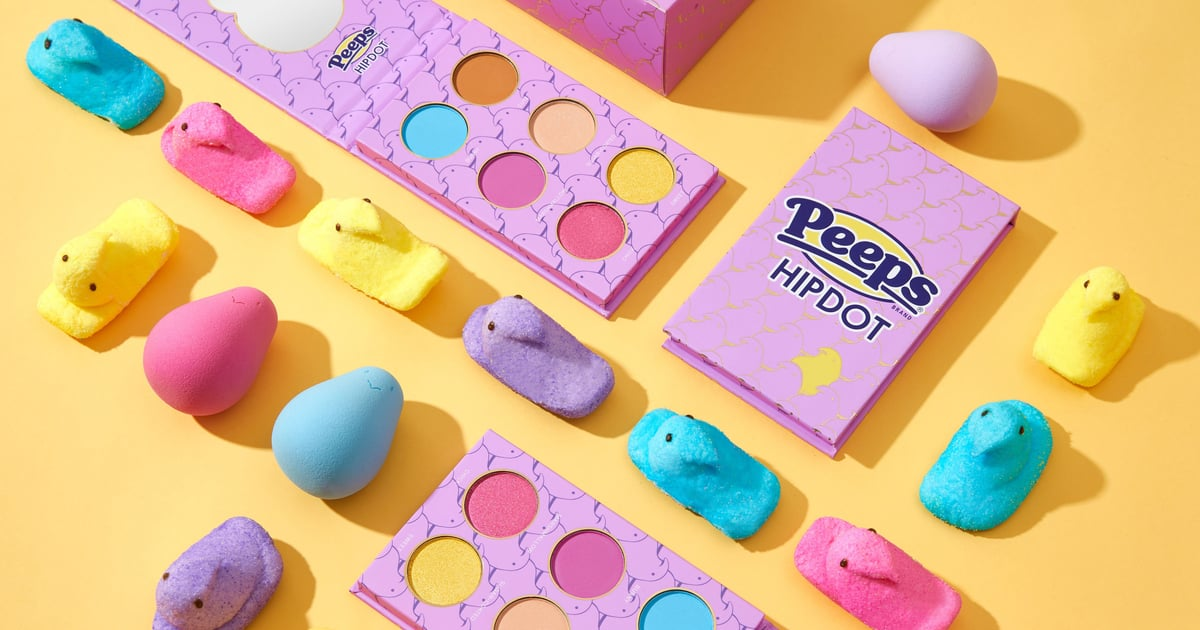 There's a Peeps Makeup Collection Coming, With Chick-Shaped Sponges and All.jpg