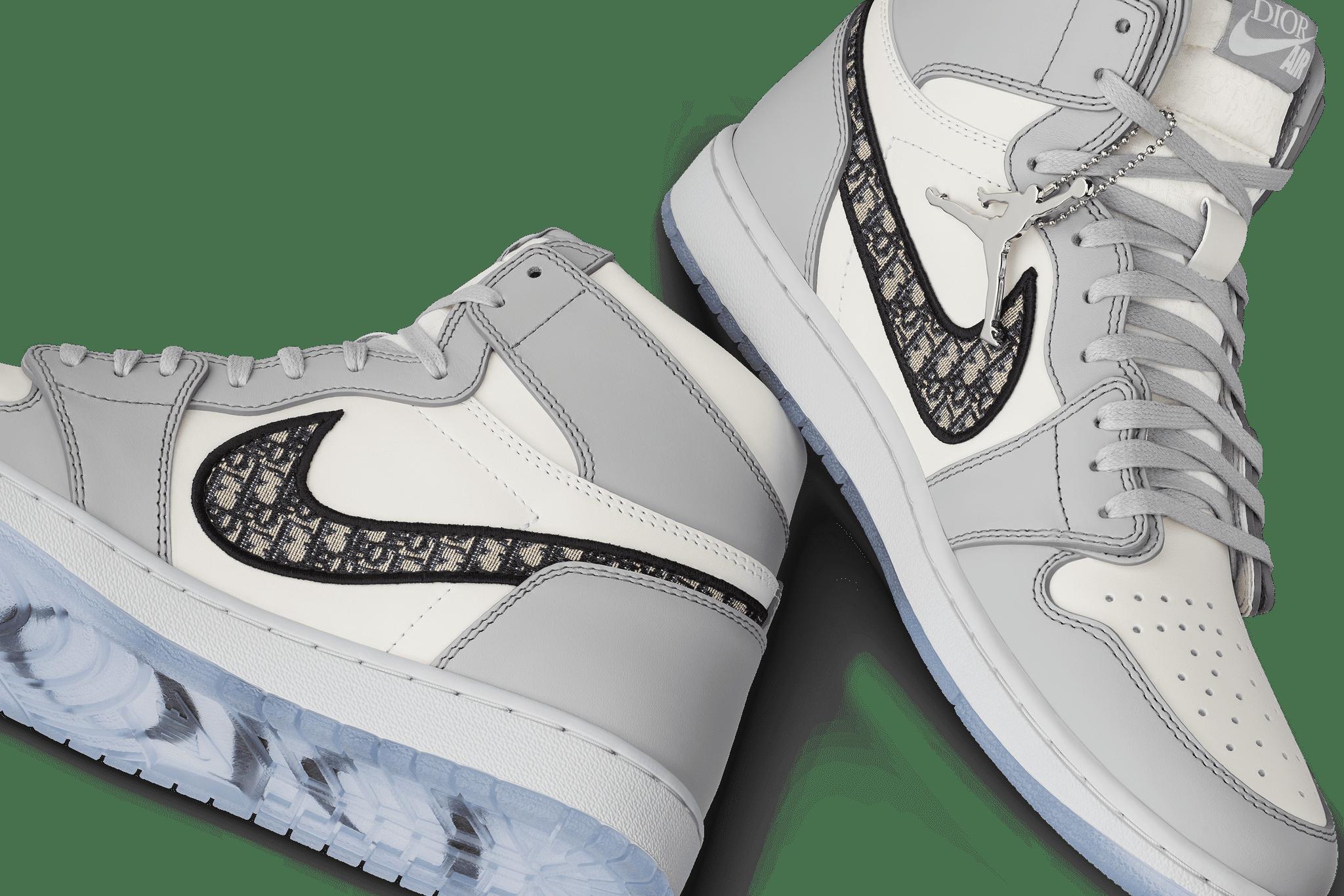 Dior x Air Jordan 1 Sneakers | POPSUGAR