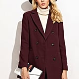 Shein Double-Breasted Coat