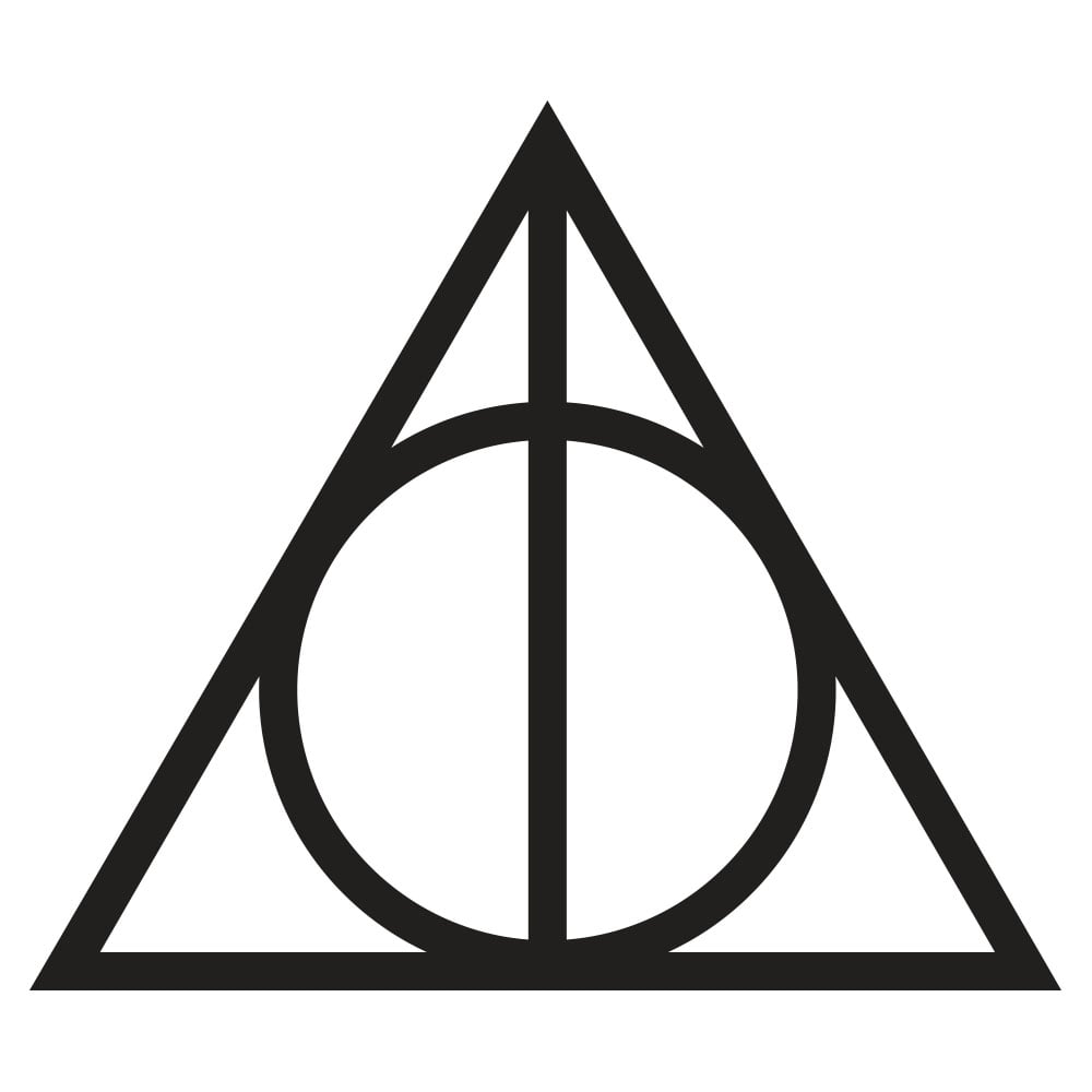 Effortless image regarding harry potter stencils printable