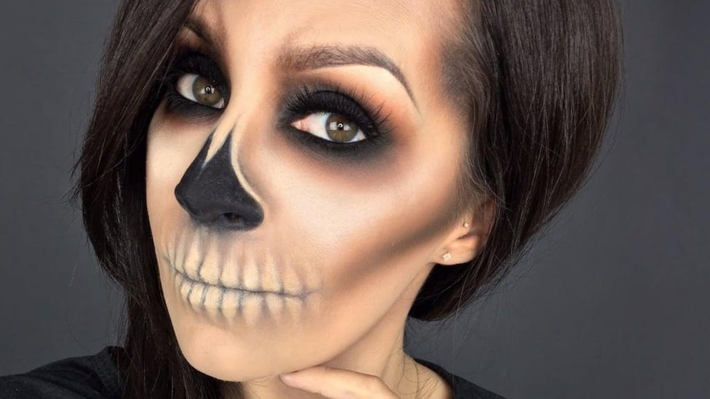 Beginner Halloween Makeup Easy.Easy Last Minute Halloween Makeup Tutorials Popsugar Beauty