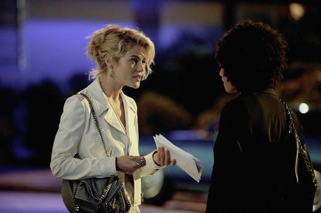 Rachael Taylor and Annie Ilonzeh in ABC's Charlie Angels.