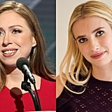 Emma Roberts as Chelsea Clinton