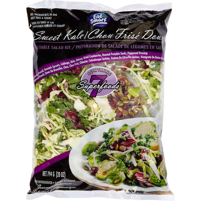 Bagged Kale Salads
