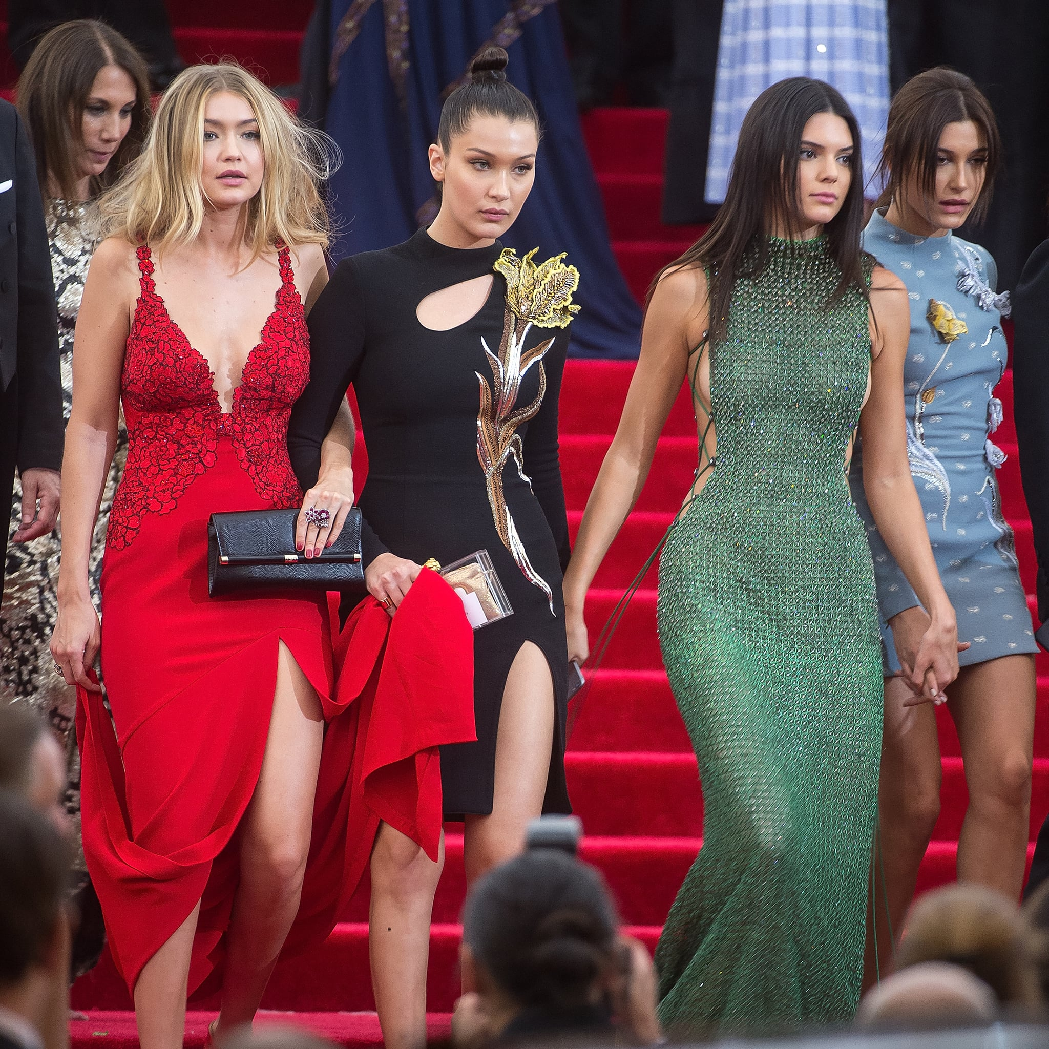Kendall Jenner And Gigi Hadid Street Style Popsugar Fashion