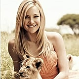 Kate Hudson and David Babaii for Wildaid Haircare Products