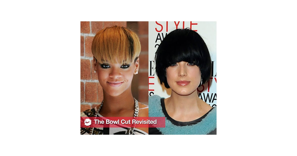 Celebrities With Bowl Haircuts Popsugar Beauty