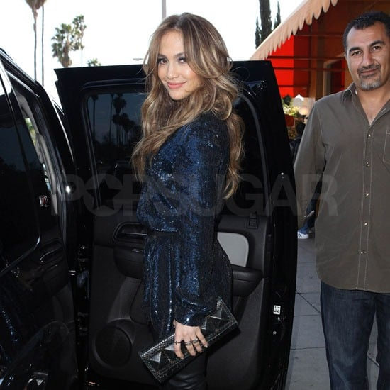 Jennifer Lopez Dries Her Tears For a Fashionable Lunch Date