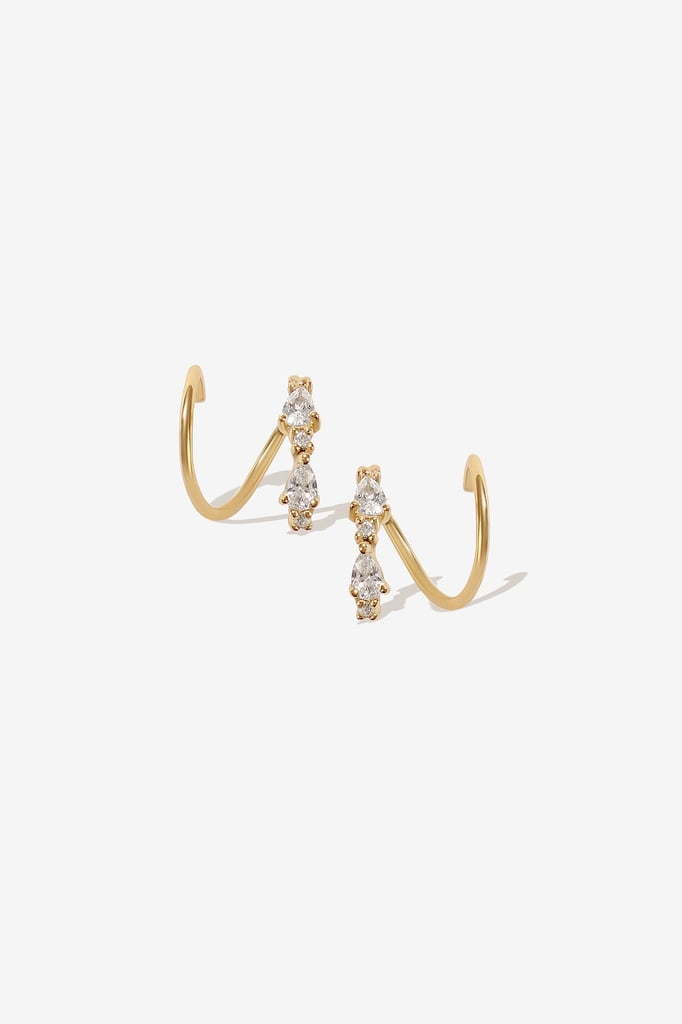 Adornmonde Lester Gold Twist Earrings