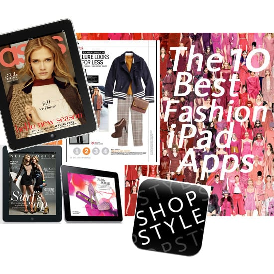 Top Ten Fashion iPad Apps for the New iPad!