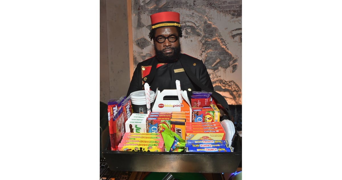 Questlove as a Concession Stand Worker | Heidi Klum's Halloween ...