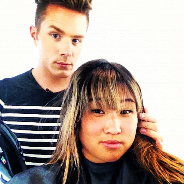 Jenna Ushkowitz got a new 'do. Source: Instagram user jennaushkowitz