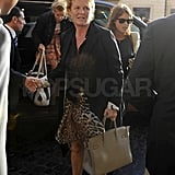The former Dutchess of York, Fergie, joined her daughters, Princesses Beatrice and Eugenie, in Rome.
