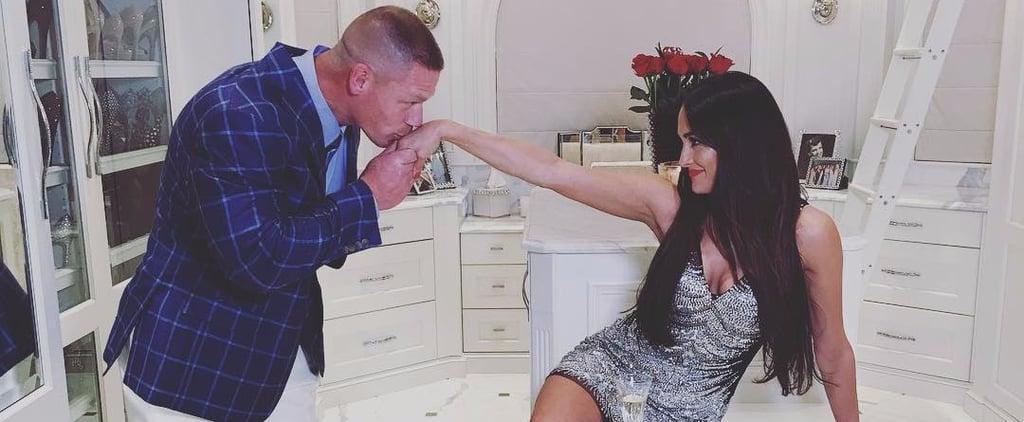 John Cena and Nikki Bella's Closet Is in Even Better Shape Than Their Bodies