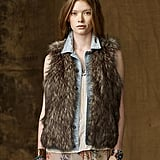 When I saw this  Ralph Lauren Boyfriend Vest ($145), I instantly realized what my wardrobe had been missing. This will definitely make its debut appearance with my Fashion's Night Out ensemble.  -– Colleen Doyle, editorial intern