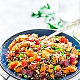 Roasted Sweet Potato Quinoa Black Bean Salad
