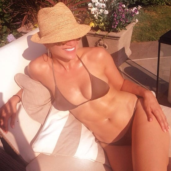 Jennifer Lopez Wearing a Bikini