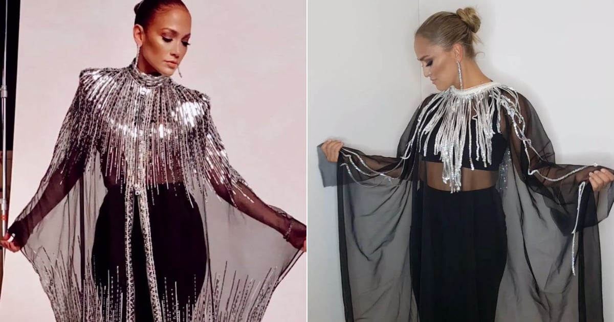 J Lo's World of Dance Finale Gown Was So Mesmerizing That a Fan Replicated Her Look