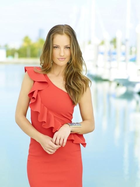 Minka Kelly as Eve in ABC's Charlie's Angels.