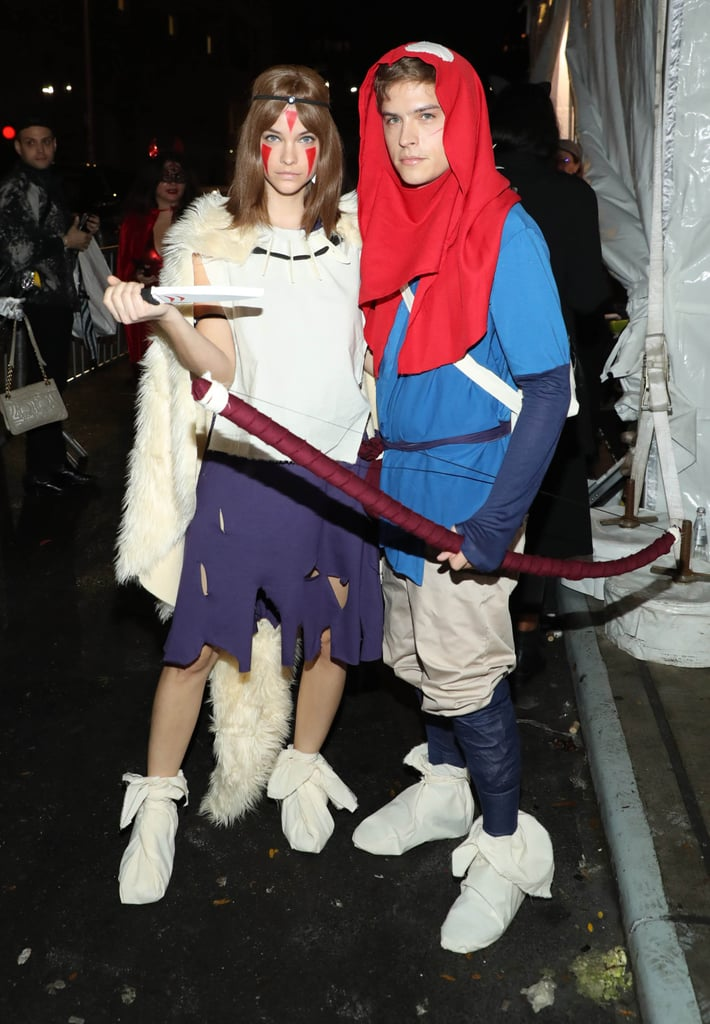 Barbara Palvin And Dylan Sprouse As Ashitaka And San From Princess