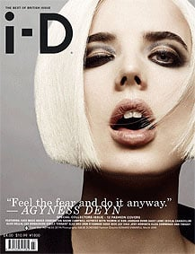 Twelve British Models, Twelve i-D Covers for March 2009
