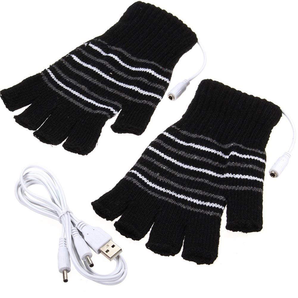USB Powered Wool Heated Gloves