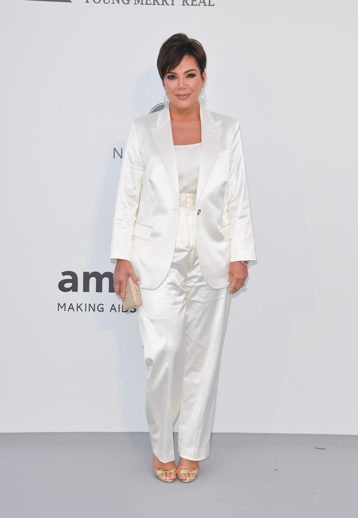 Kris Jenner at the amfAR Cannes Gala