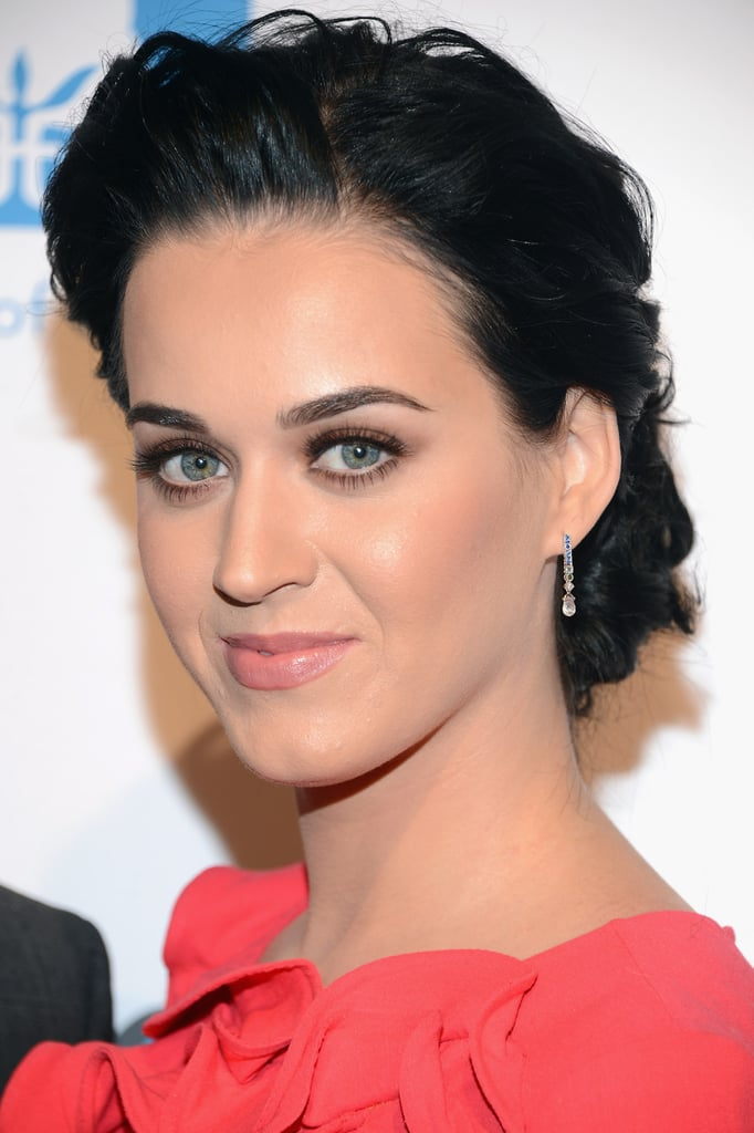 Katy Perry smiled at Billboard's Women in Music event in NYC.