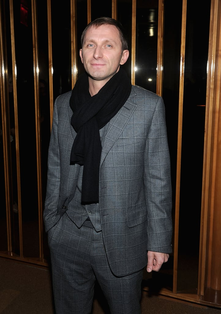 Goran Kostic at the afterparty for In the Land of Blood and Honey.