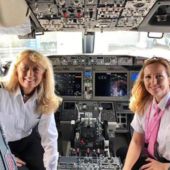 All-Female Flight Crew on Southwest Flight