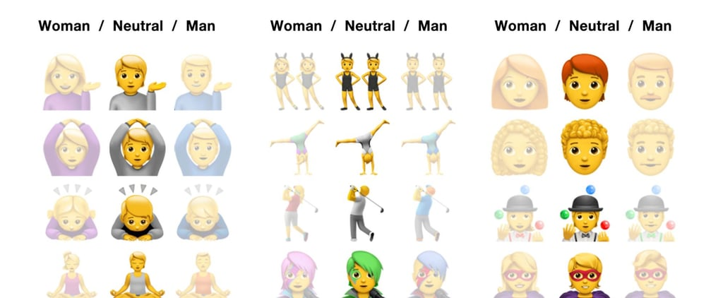See Apple's New Gender-Neutral Emoji From iOS 13.2