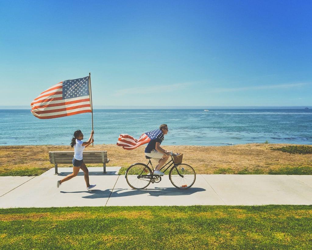 Go for a family bike ride.