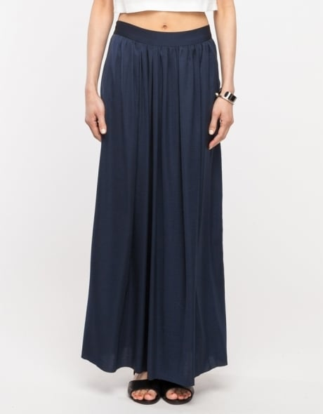 Need Supply Co. Navy Maxi Skirt