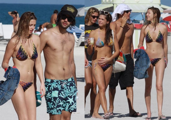 Whitney in Her Bikini