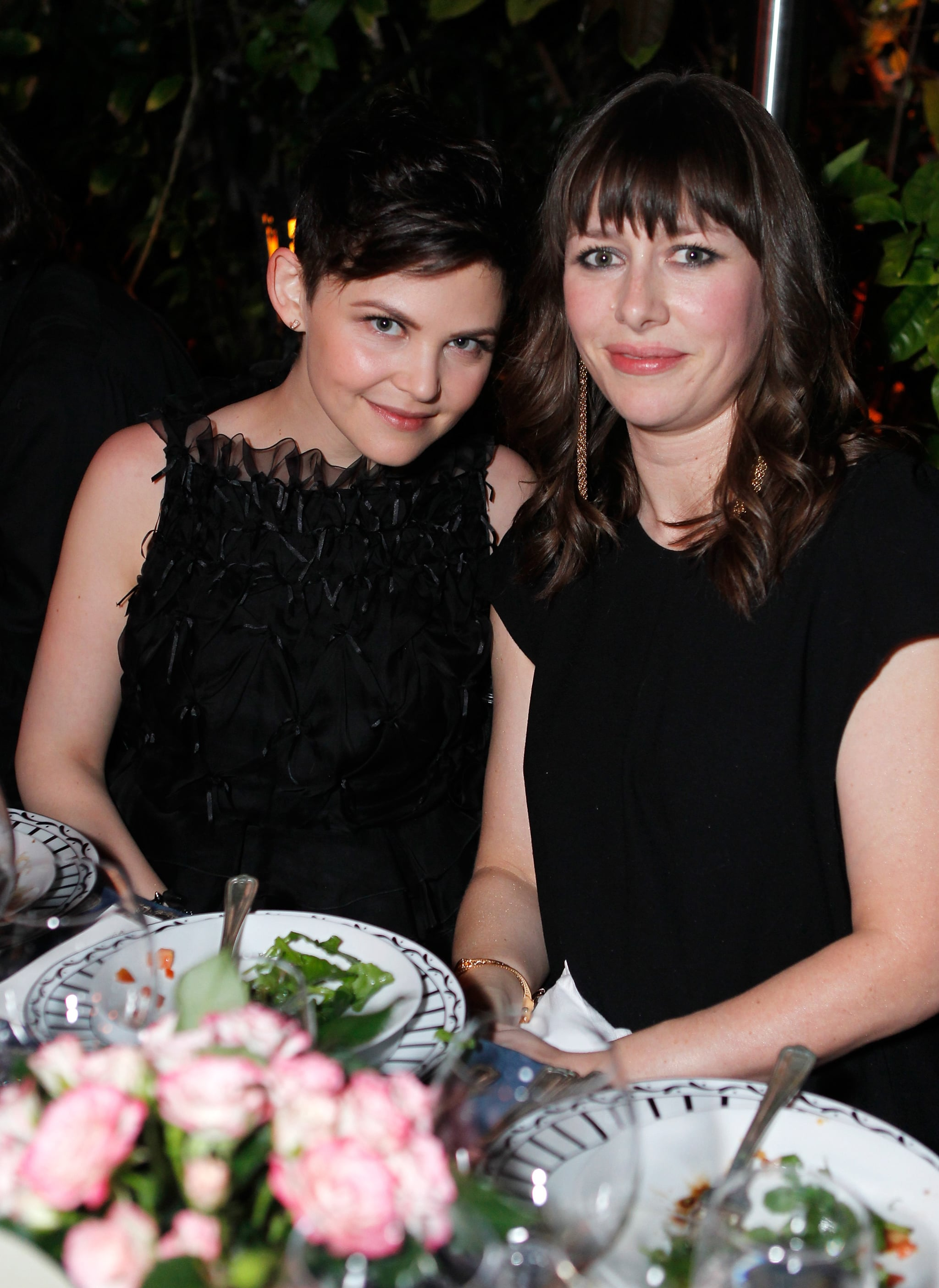 Anne Hathaway, Halle Berry, Olivier Martinez, and More Toast the Oscars at a Dior Dinner